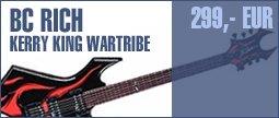 BC Rich Kerry King Wartribe 1 Warlock