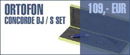 Ortofon Concorde DJ/S Set