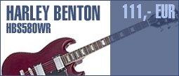 Harley Benton S-580 WR Vintage Series