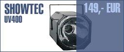 Showtec UV400 Gun Blacklight
