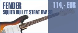 Fender Squier Bullet Strat RW SB