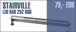 Stairville LED Bar 252 DMX RGB