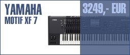 Yamaha Motif XF 7 Anniversary Bundle