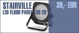 Stairville LED Flood Panel 150 20° RGB