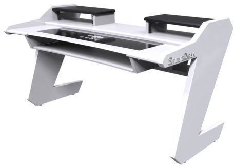 Beat Desk All White Studio Desk