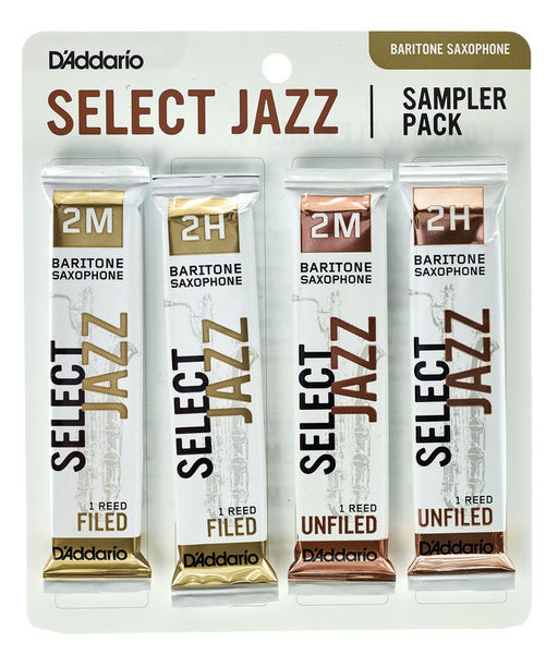 Select Jazz Bari Sampler Pck 2 D'Addario Woodwinds