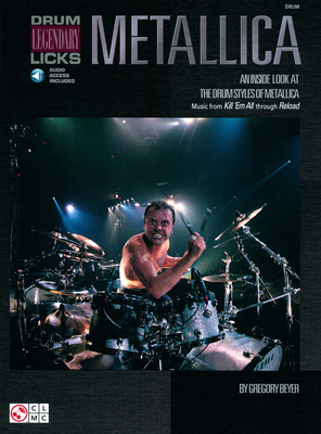 Hal Leonard Metallica Drum Licks