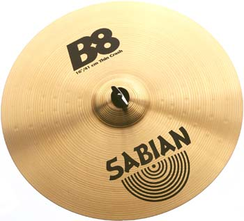 "Sabian 16"" B8 Thin Crash"