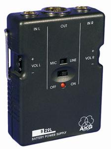AKG B 29 L Batteriespeisegerät für 2 L-Mikrofone