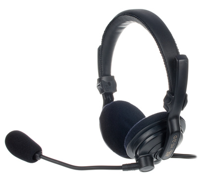 ASL Intercom HS2/D Headset BK