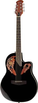 Harley Benton HBO850 BK Westerngitarre