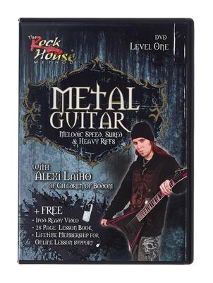 Music Sales Rock House Metal Guitar 1(DVD)
