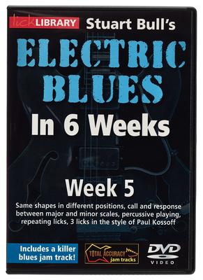 Music Sales Electric Blues Week 5