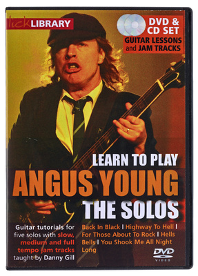 Music Sales Angus Young The Solos