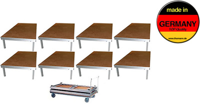 Stairville Stage Table Bundle Indoor