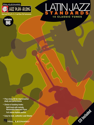 Hal Leonard Jazz Play Along Latin Jazz