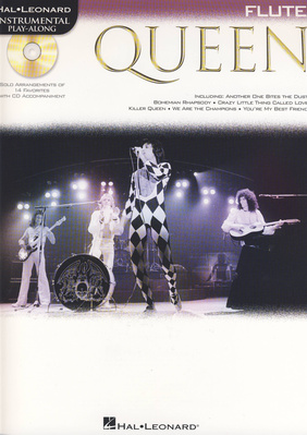 Hal Leonard Flute Play-Along: Queen