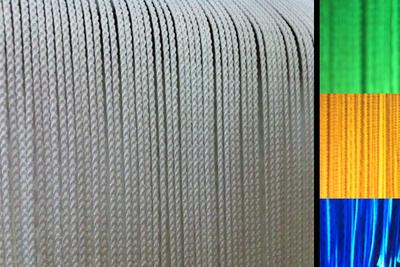 Stairville Tassel Curtain B1 2 x 2,3m W