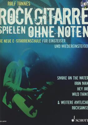 Schott Rockgitarre Spielen Ohne Noten