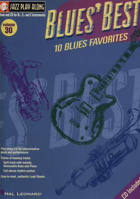 Hal Leonard Jazz Play Along Blues Best