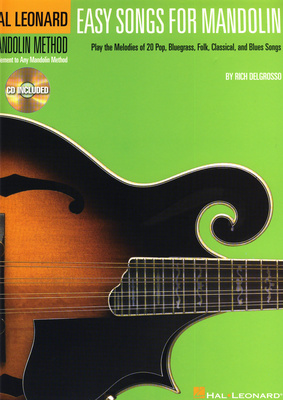 Hal Leonard Easy Songs For Mandolin