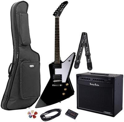 Harley Benton EX-76 BK Rock Series Set 1