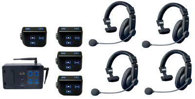 Clear-Com DX-100 4er Set