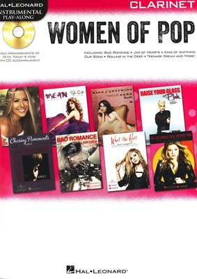 Hal Leonard Women Of Pop Clarinet