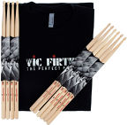 Vic Firth 5A American Hickory +Shirt XL